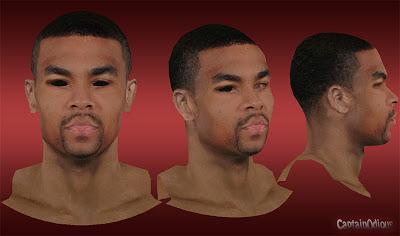 NBA 2K13 Ramon Sessions Cyberface Mods