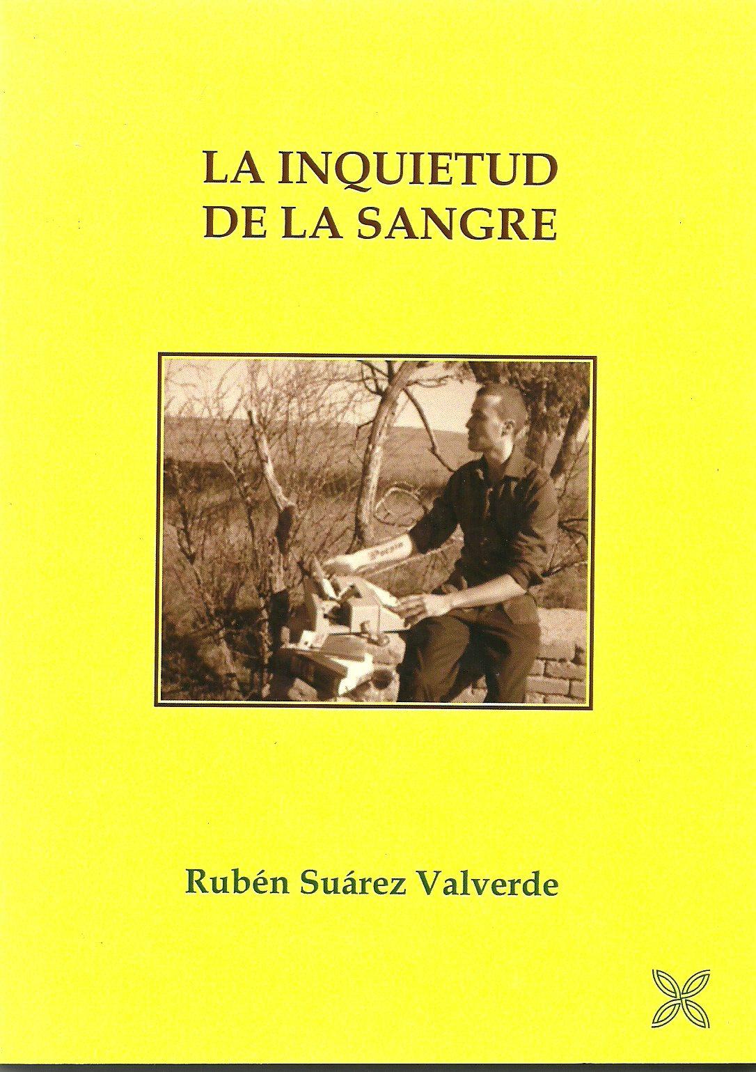 """LA INQUIETUD DE LA SANGRE (si deseas un ejemplar haz """"clic"""" en la portada)"""