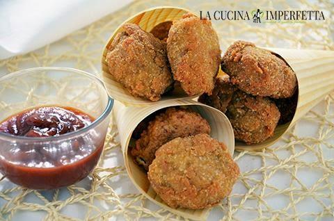 Bocconcini di pollo fritti (Chicken Mcnuggets)