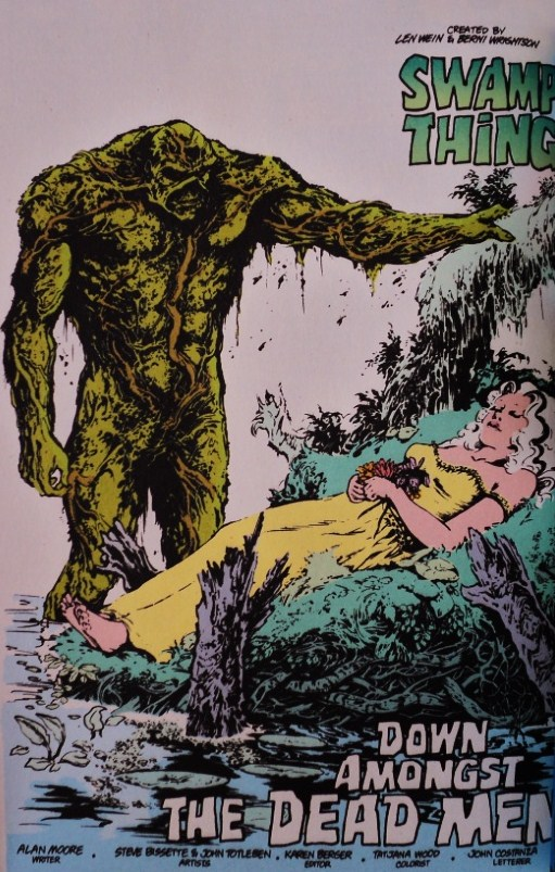Saga of the Swamp Thing # 31 Annual # 2 - Moore, Veitch Bissette