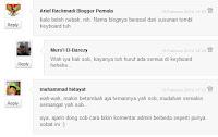 Pasang Threaded Comment Pada Blogspot