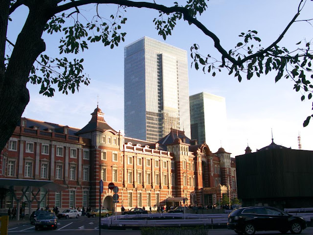The newly renovated Tokyo Station, January 2013.