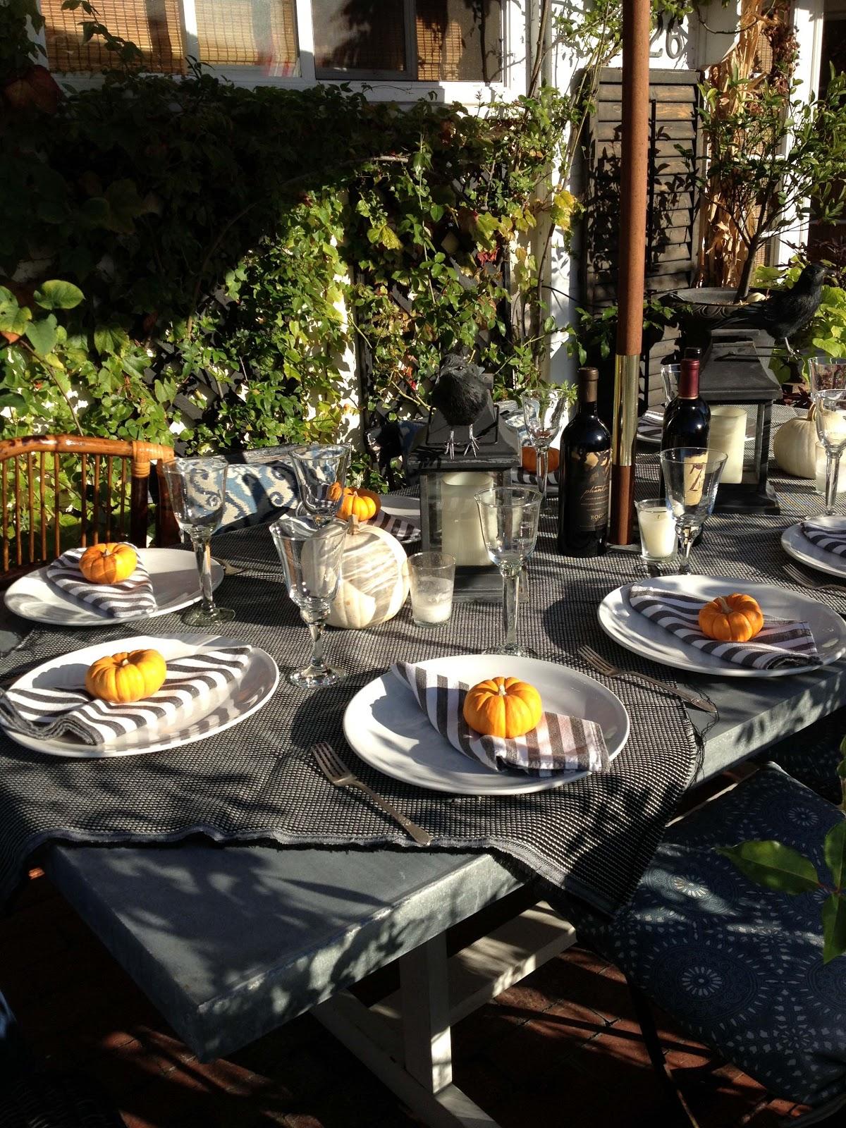 The Willows Home Garden Halloween Dinner Party