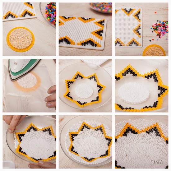 Diy fácil y decorativo: Cuenco hecho con cuentas Hama Beads