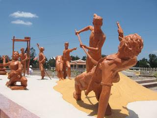Khu tưởng niệm sự kiện Nọc Nạn ở Bạc Liêu