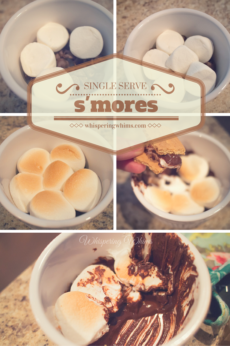 Single Serve S'mores | Whispering Whims