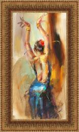 Artist Anna Razumovskaya