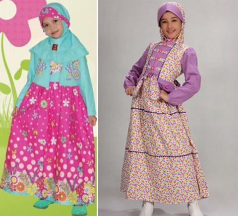 baju anak perempuan muslim