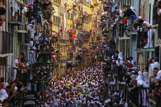 bull run of the San Fermin