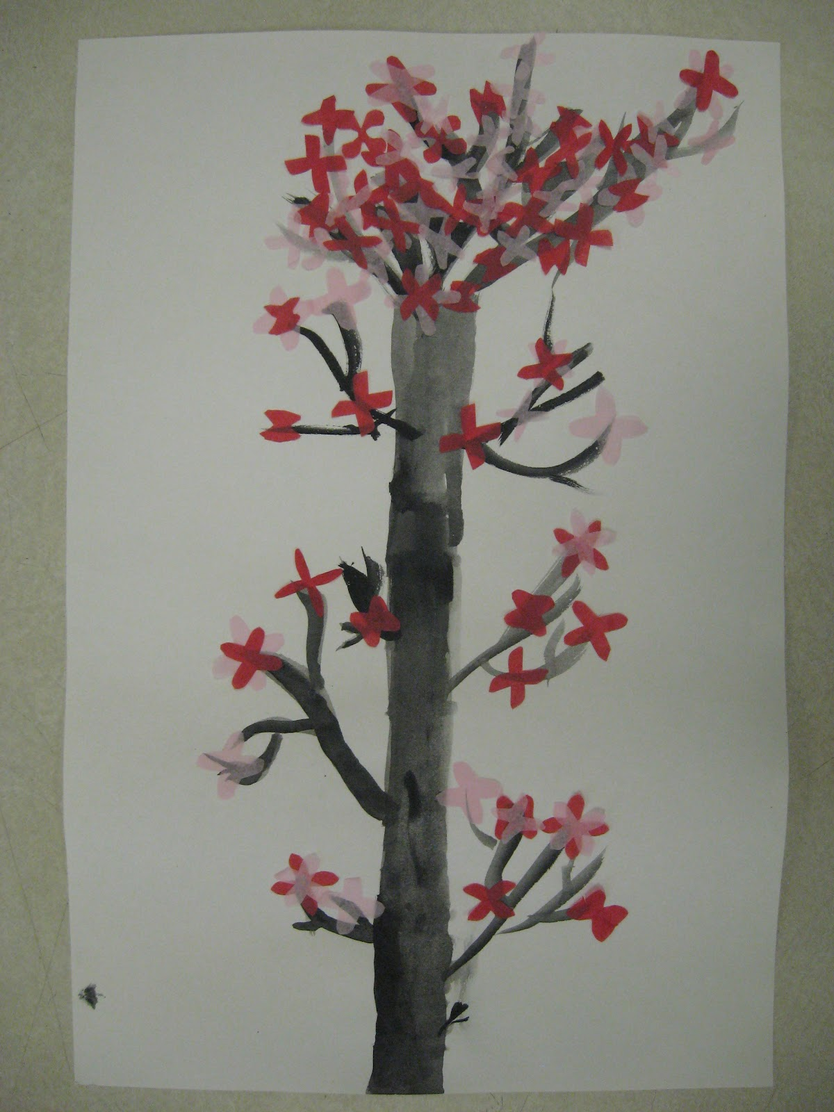 How To Draw A Cherry Blossom Tree In Pencil 3rd grade cherry blossom trees