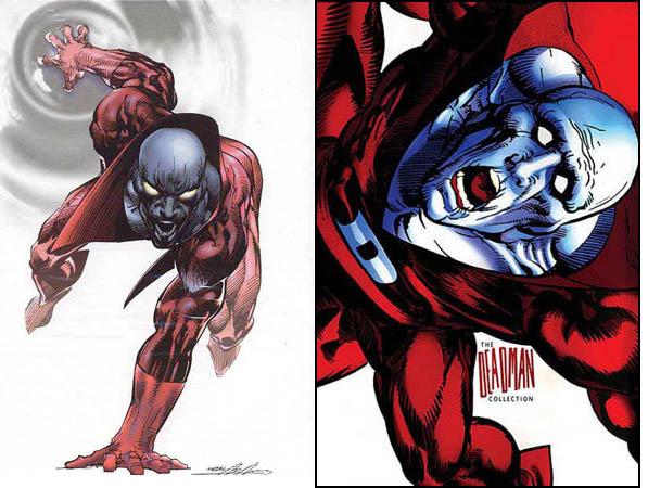 Deadman DC Comics artwork