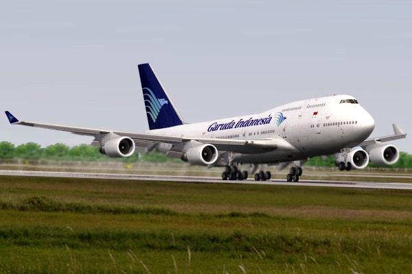 Garuda Indonesia, Boeing 747-400. ZonaAero