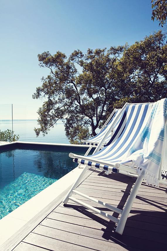 Blue and white | John Downs via Queensland homes