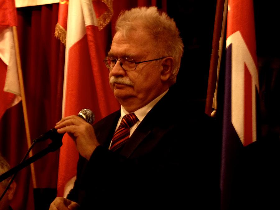 Prof. Jerzy Robert Nowak w Klubie Polskim Ashfield