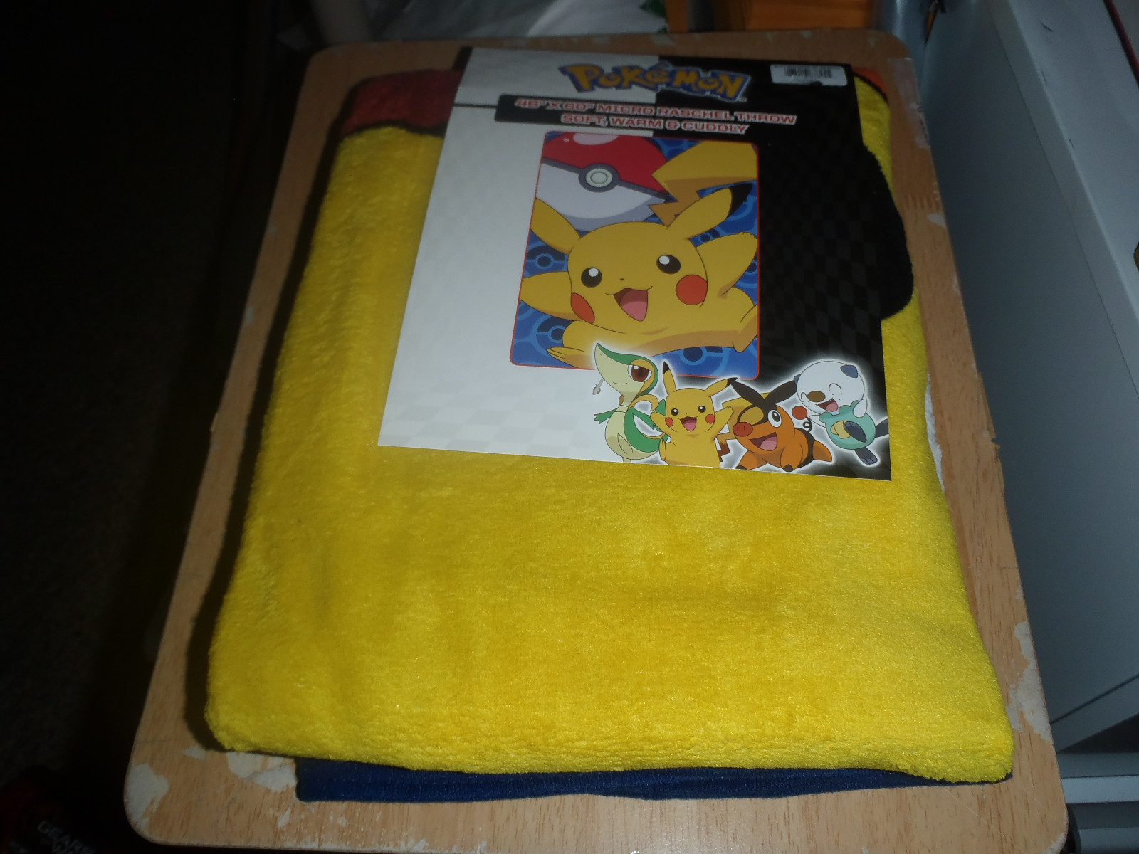 POKEMON BLANKET MICRO RASCHEL FLEECE