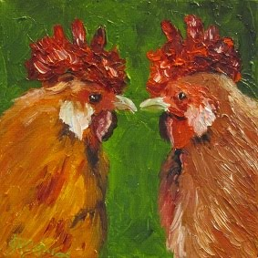 """Have You Seen the Newest Chick?""  SOLD!!!"