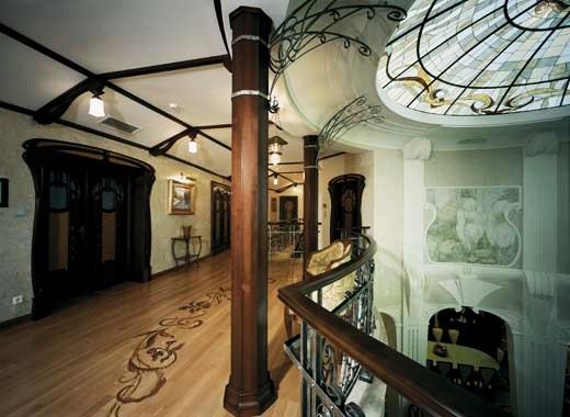 La dame des roses case da sogno stile liberty art noveau - Art nouveau mobili ...