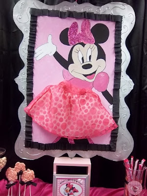 Decoración De Fiestas Infantiles de Minnie Mouse