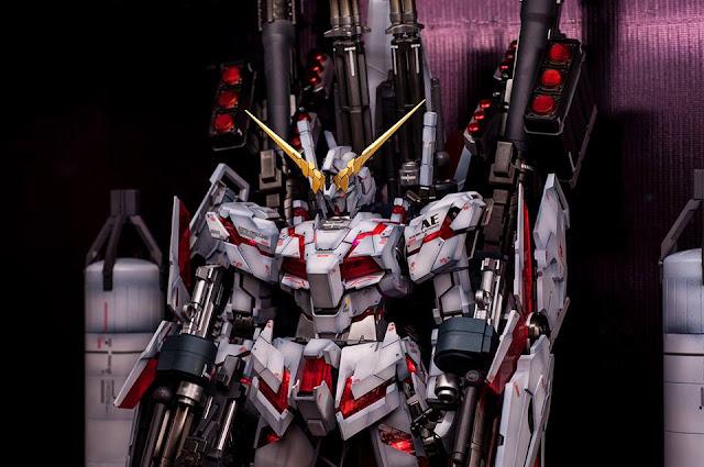 Perfect Grade Unicorn Gundam Full Armor by Wolfz™