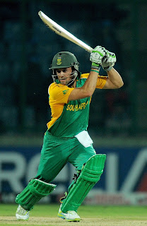 AB de Villiers scored his second century off 97 balls in World Cups