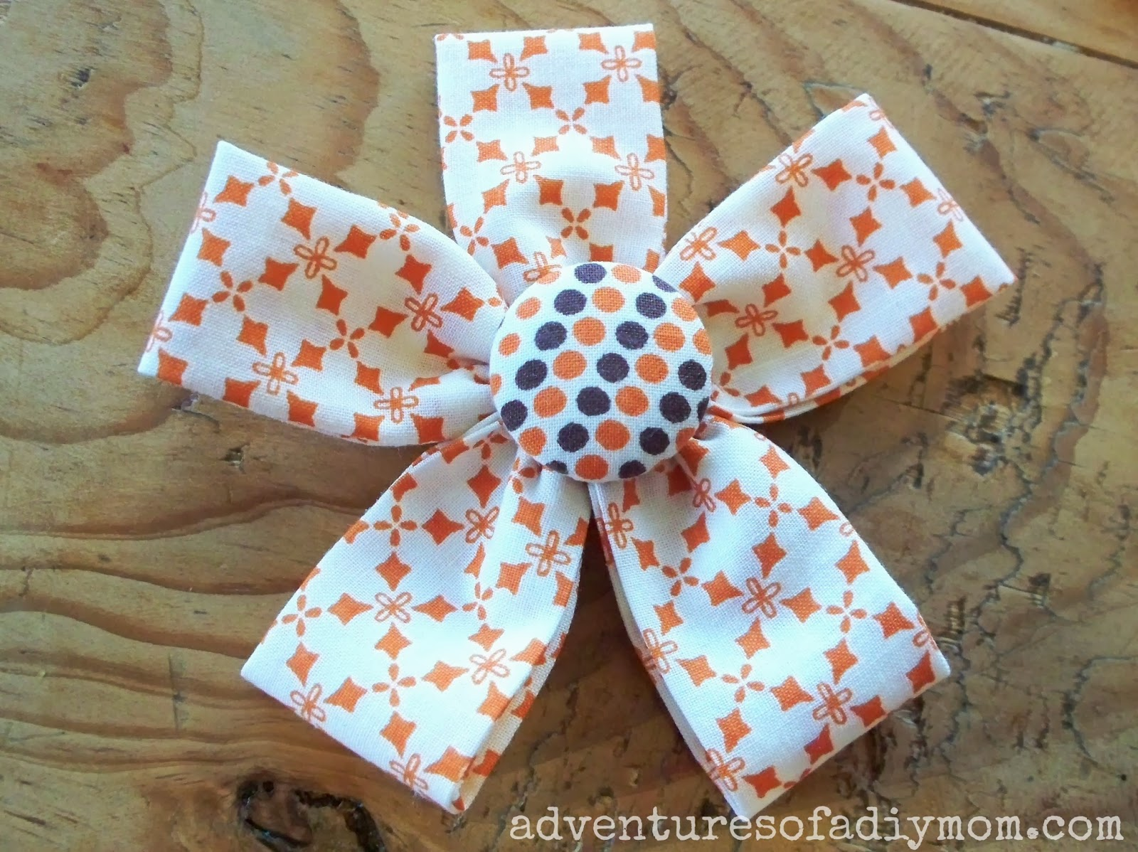 How to Make Fabric Flowers Adventures of a DIY Mom