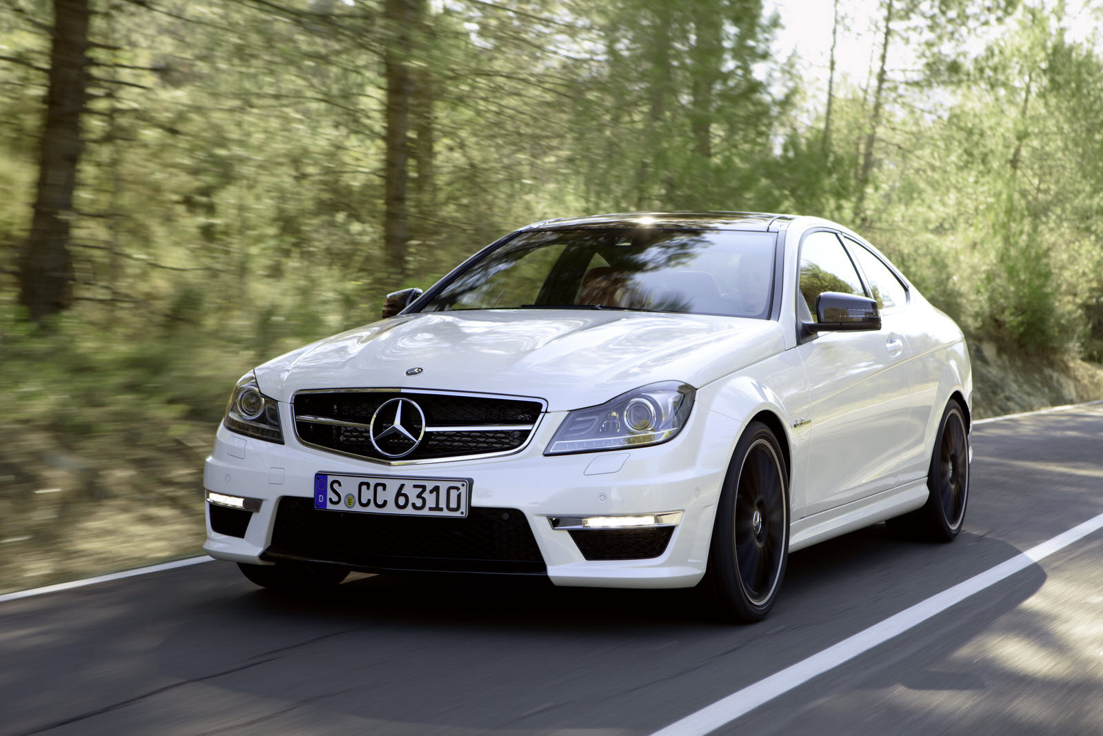 The new c 63 amg coup emotion and high performance at for Mercedes benz c class amg