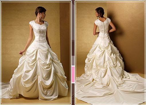 Reduced Price Modestia Courture Gowns | ABELLA BRIDAL