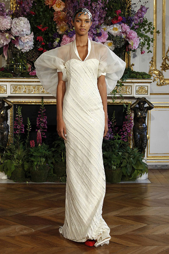 Runway report brides of haute couture a w 2013 nick for Haute couture clients