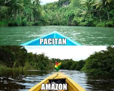 Amazon Vs Pacitan