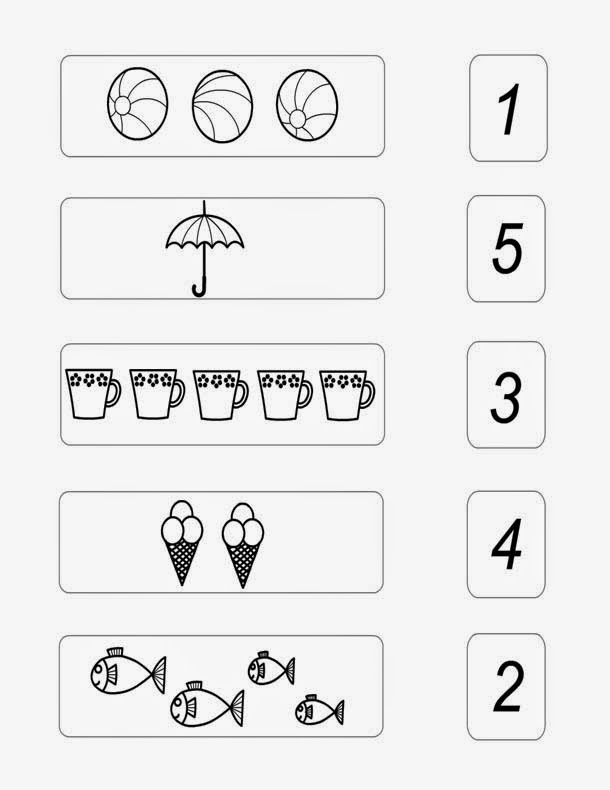 ... Page: Basic Numbers 1 to 5 Worksheet | Educational Maths Worksheets