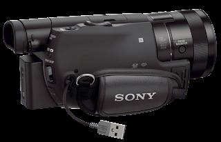 Sony 4K Shooting AX100