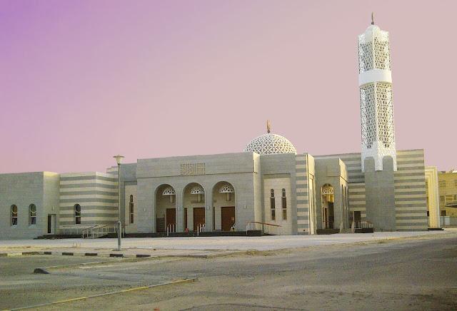Sacred space design mohammed jassim al saddah for Mosque exterior design