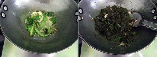 Gongura Pappu Khatta Bhaji Dal Recipe