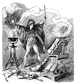 The Apprentice illustration from around 1882 by S. Barth