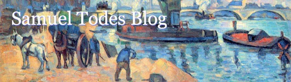 Samuel Todes Blog