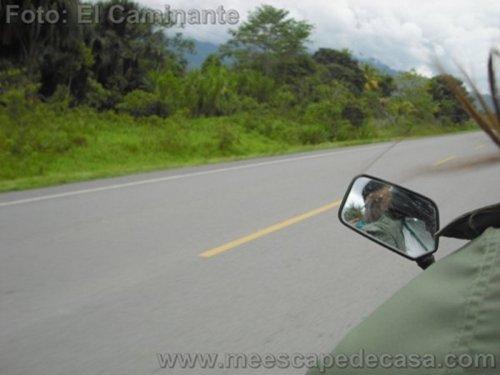 En moto a la naciente del río Tioyacu (Rioja Perú)