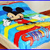 Grosir Selimut New Seasons Blanket mickey smile