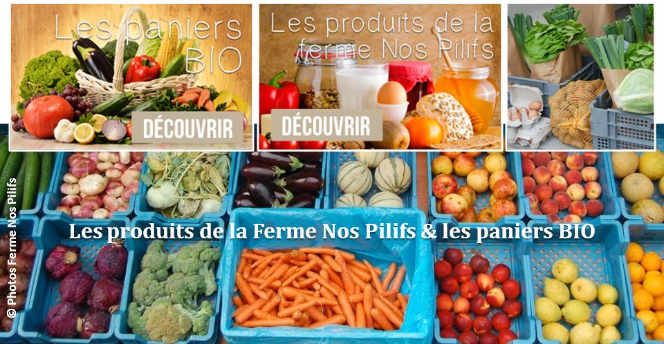 Ferme Nos Pilifs - Une ferme bruxelloise sur 5 hectares...mais bien plus encore ! -  Les produits de la ferme et les paniers BIO - Bruxelles-Bruxellons