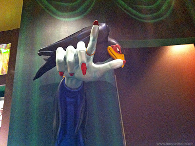 Disney villain hand Maleficent Raven World Disneyland store