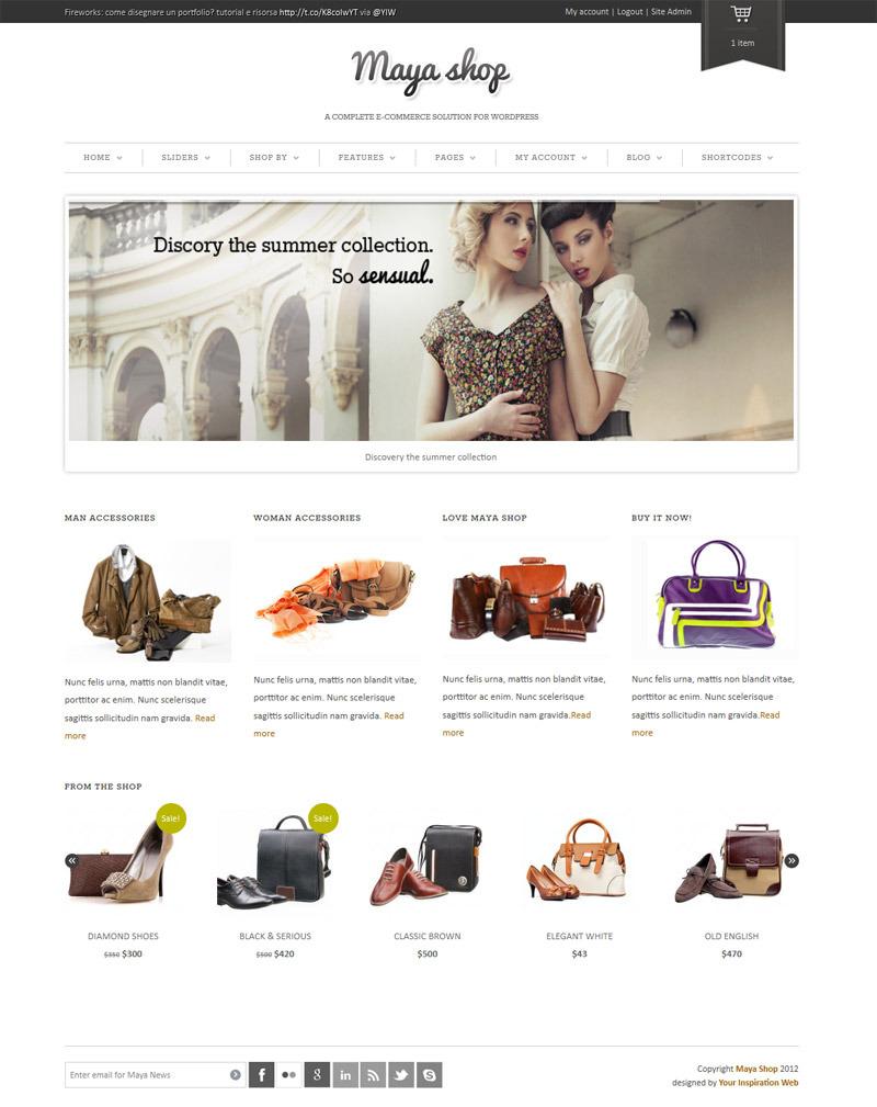 MayaShop-eCommerce-Templates