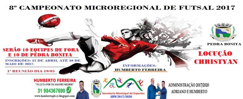 8º Campeonato Futsal 2017