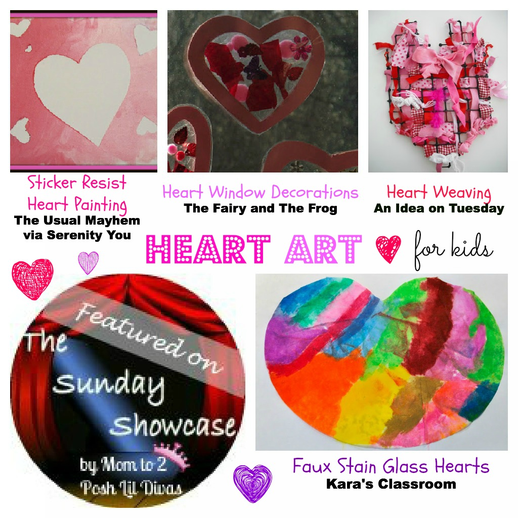 Mom to 2 Posh Lil Divas: Heart Arts and Crafts Ideas for Kids ...