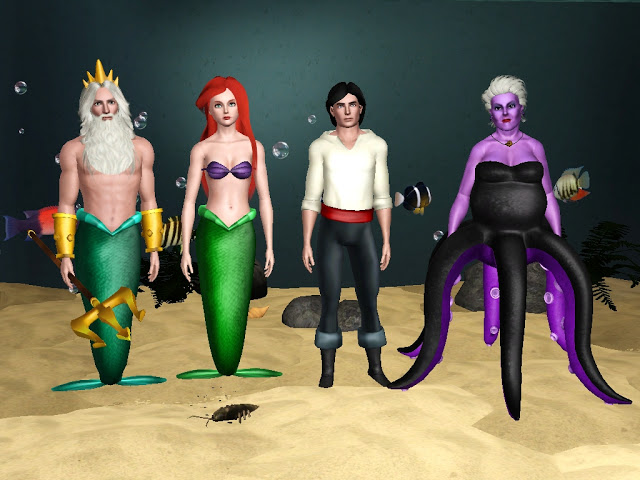 Sims 3 Character Design Ideas : My sims the main characters from walt disney s