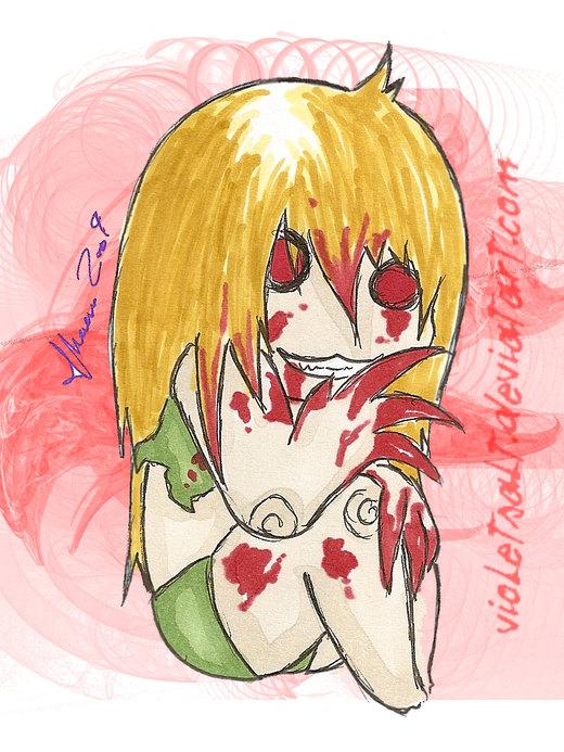 Left 4 Dead Witch Chibi por violetsalt
