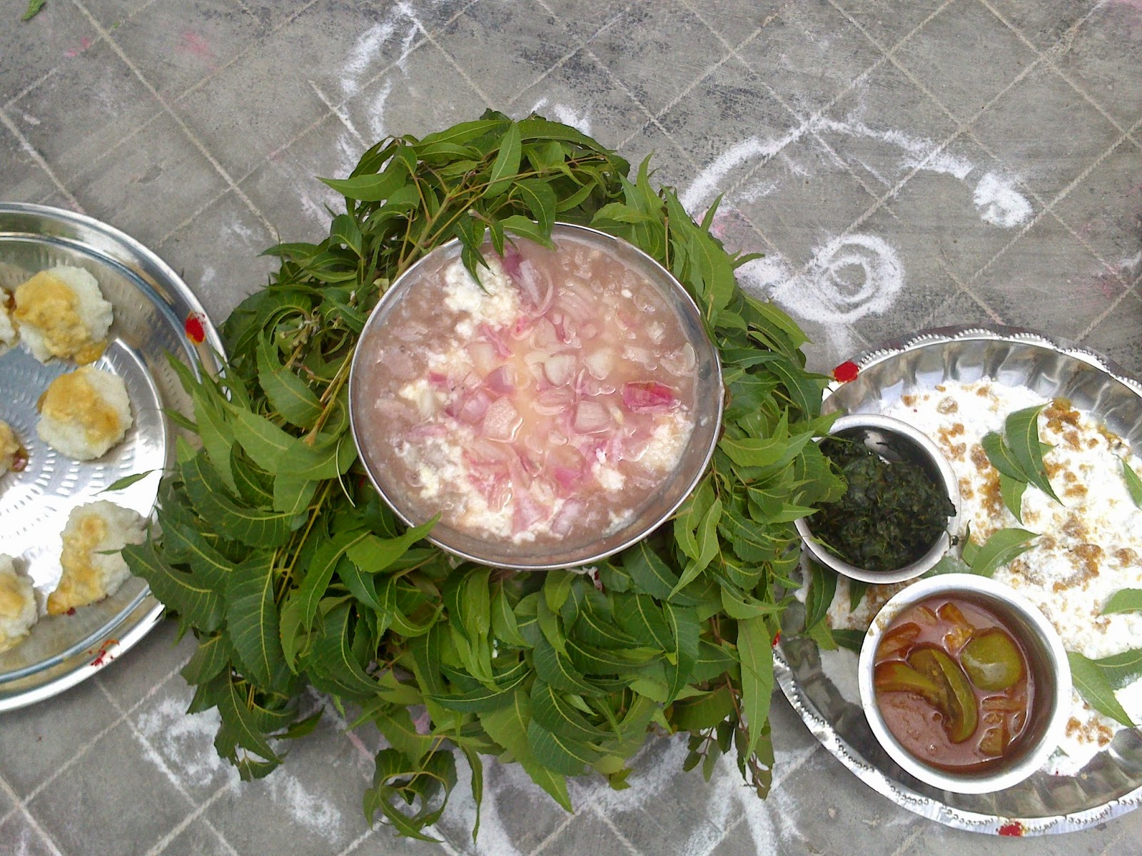 Koozh and Karuvaadu Sauce
