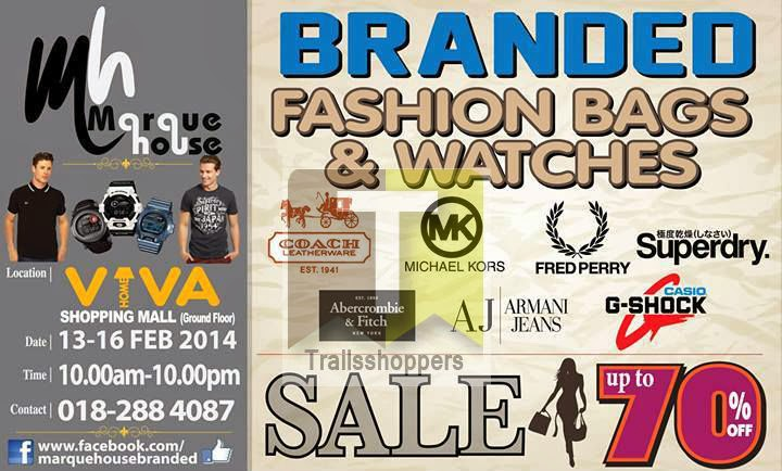 Branded Fashion Watches Bags Viva Home Shopping Mall Sale