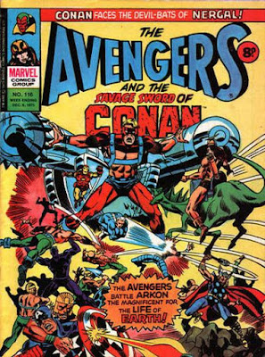 Marvel UK, Avengers #116, Arkon