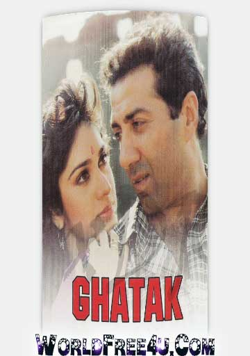 Poster Of Bollywood Movie Ghatak (1996) 300MB Compressed Small Size Pc Movie Free Download worldfree4u.com