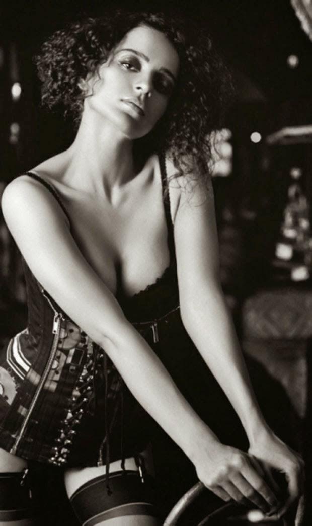 Kangana Ranaut - Hot and Sexy Photos in Black Bikini