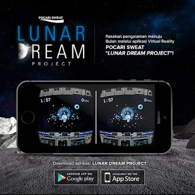 Pocari Sweat Lunar Dream Project